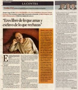 La Contra-Emilio Fiel- La Vanguardia