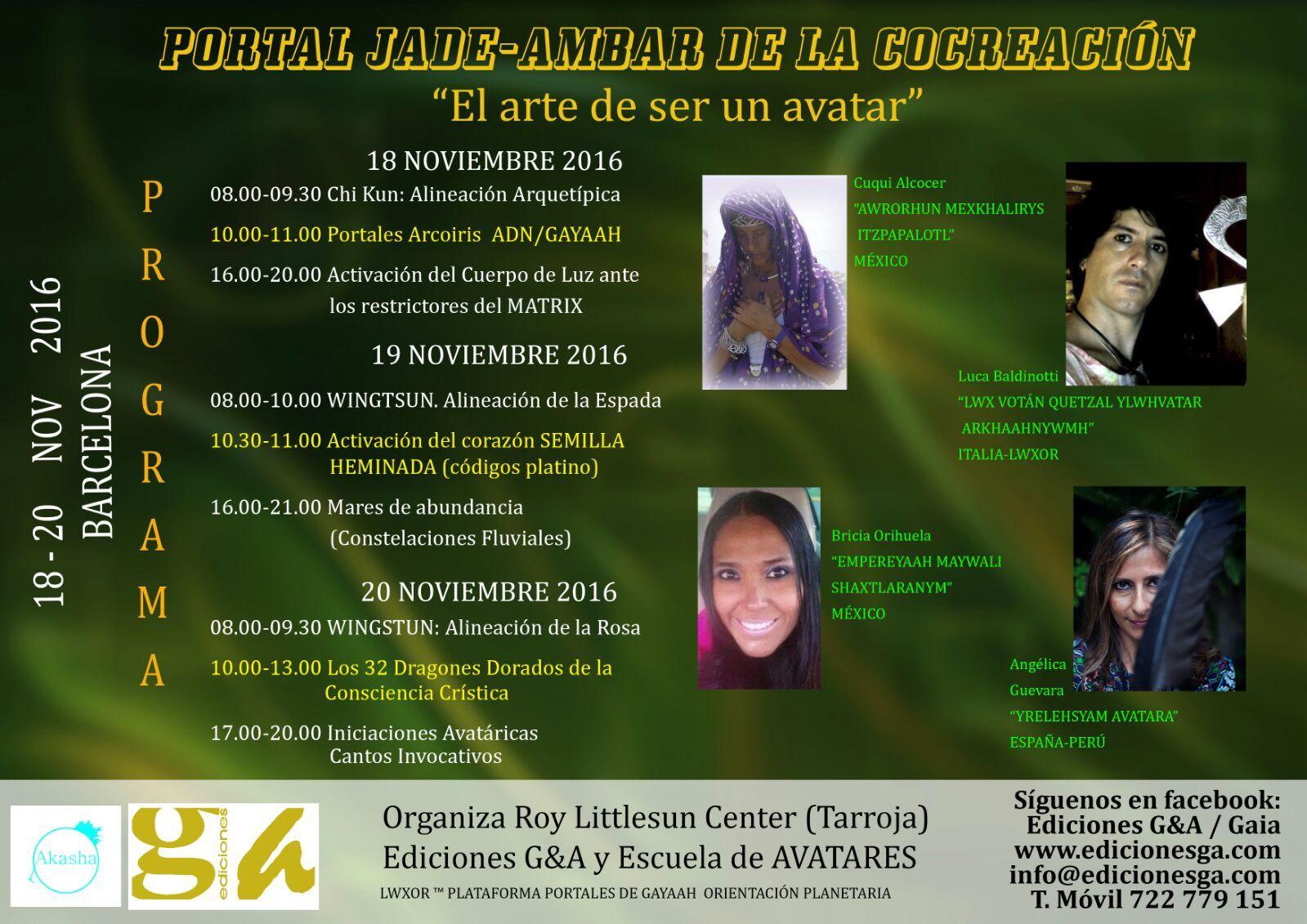 evento noviembre
